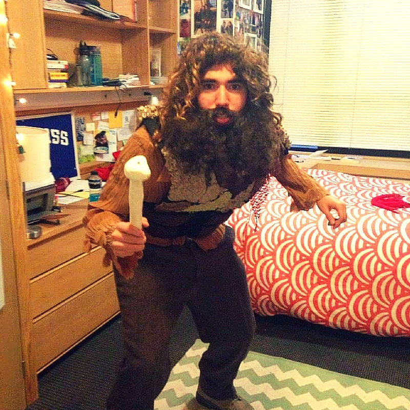 EMERGE Scholar and Georgetown student, Jose Cantù created his Halloween costume for under $5