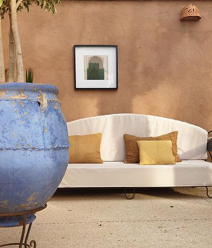 villa location marrakech akhdar touhina piscine privée