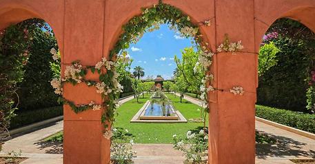 location villa piscine marrakech