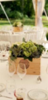 mariage sous chapiteau bambou chateau