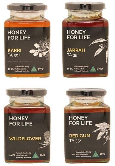 Australischer Honig von the honey colony