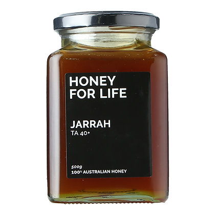 Honey for Life - Jarrah Honey TA40+ (500g)
