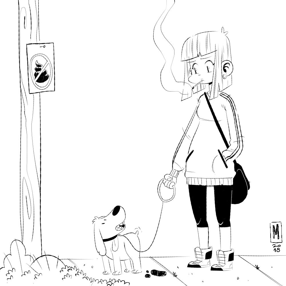 cachorro e garota_baixa