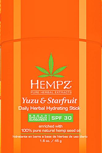 YUZU & STARFRUIT daily herbal hydrating stick with SPF 30