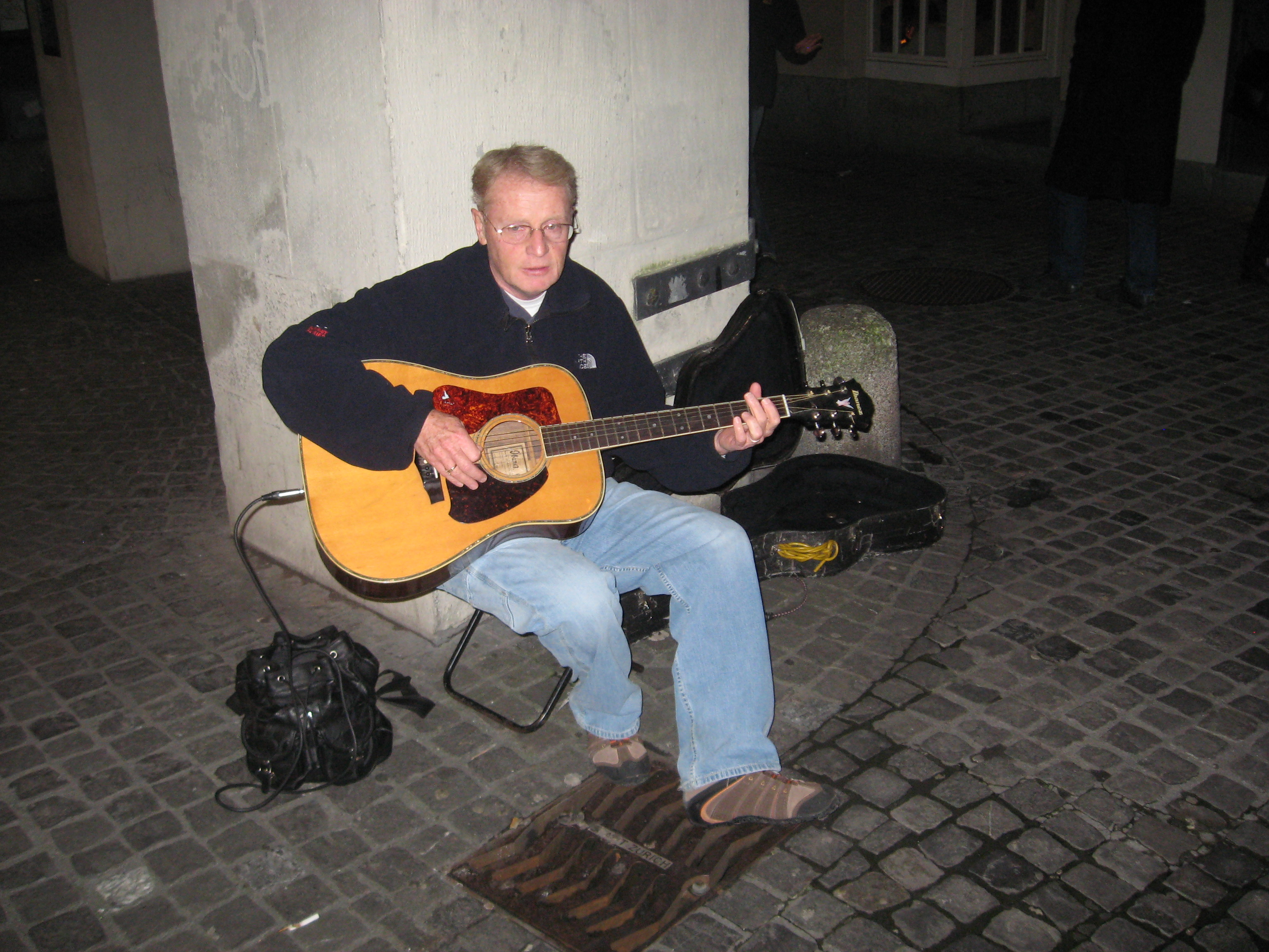 A Troubador in Zurich
