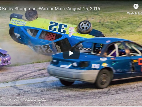 Car Rolls at Big Country Speedway-Drivers OK!