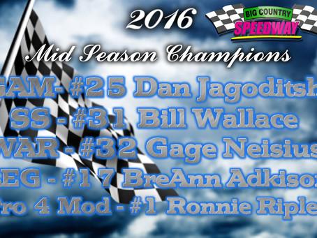 2016 Mid Season Champions