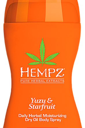YUZU & STARFRUIT daily herbal moisturizing dry oil spray with SPF 30