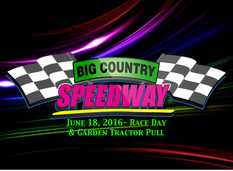 Coming June 18th- Races & Garden Tractor Pull!