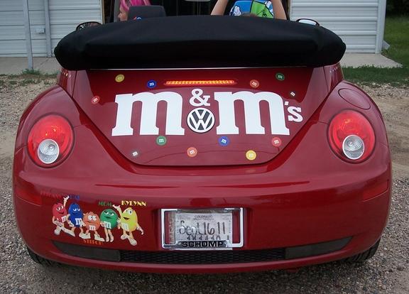 m&m car