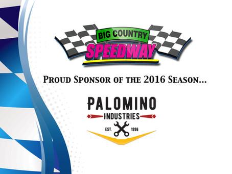 Palomino Industries- 2016 Season Sponsor