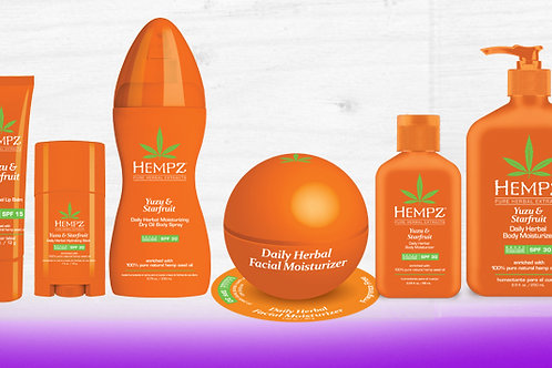Hempz Yuzu & Starfruit Collection