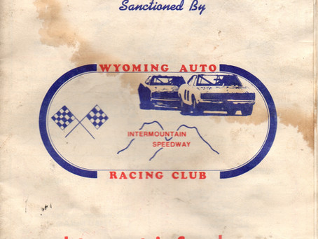 Blast From The Past- 1976 Racing Program
