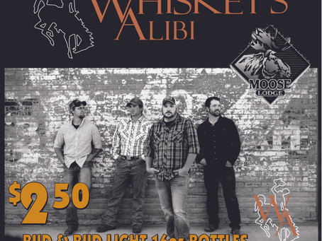 New Years Eve 2015 - With Whiskey's Alibi