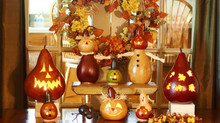 September Classes at Endless Christmas - Create Your Own Jack -o- Lantern Gourd