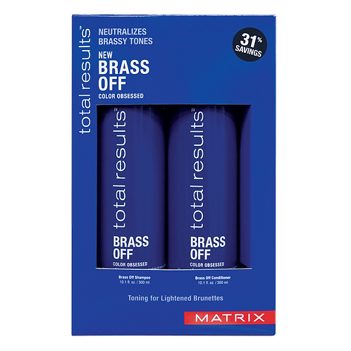 BRASS OFF SHAMPOO/CONDITIONER DUO