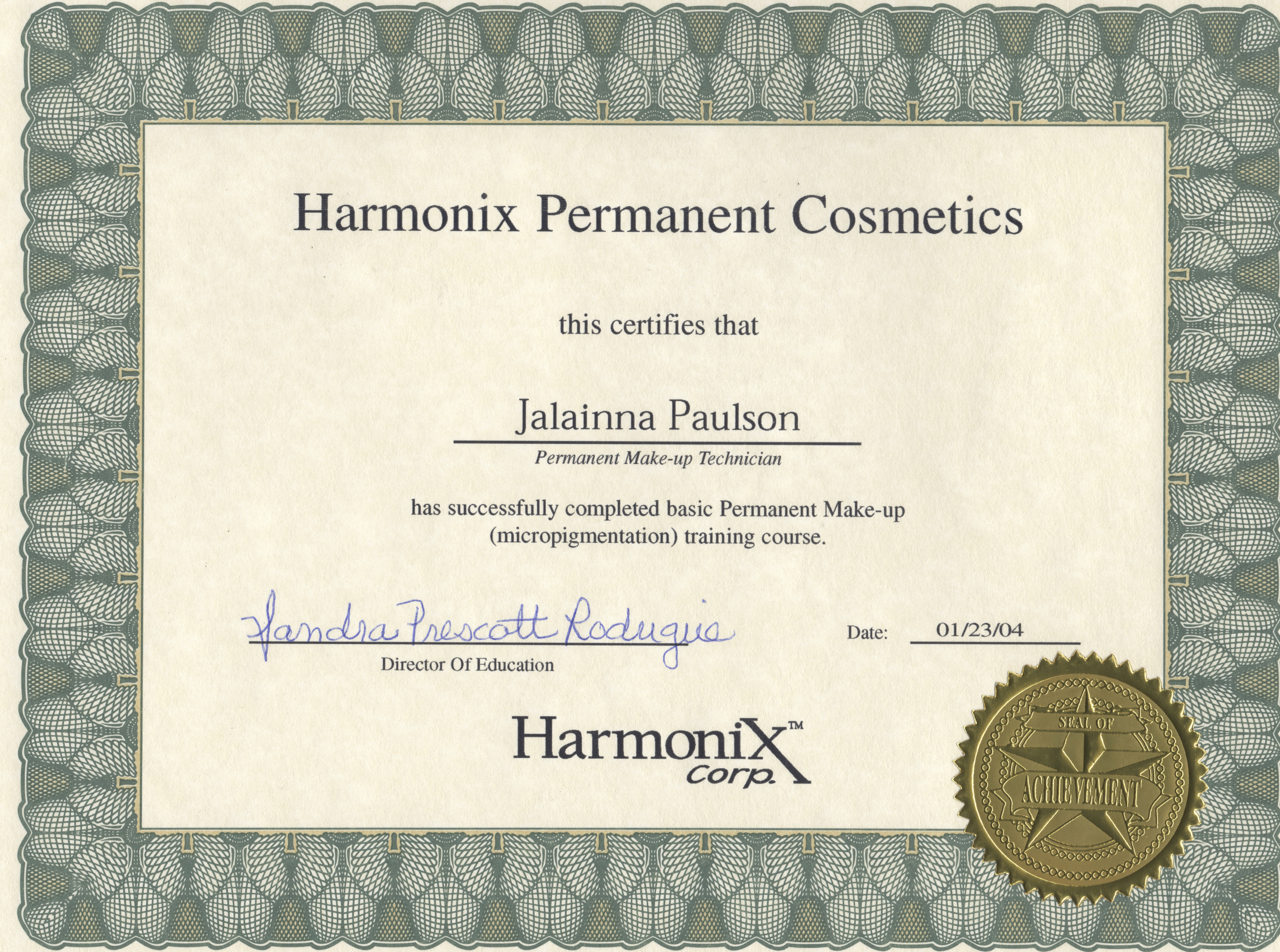 Harmonix - Micropigmentation