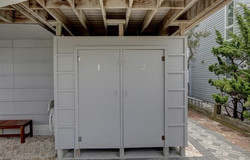 OUTDOOR SHOWERS FOR UNIT 1 AND 2