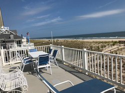 Second Floor Ocean Front Deck