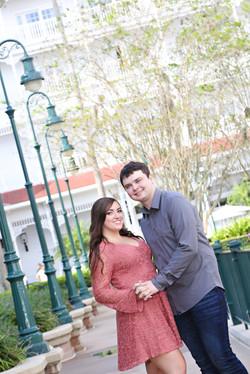 Disney Grand Floridian Engagement Sh