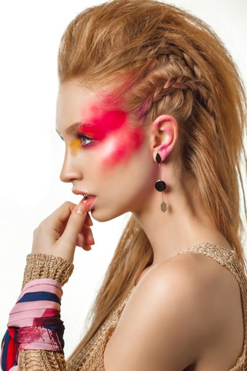 Editorial Fantasy Makeup Artist Hairstylist