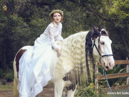 Bridle Oaks Barn Editorial Photoshoot