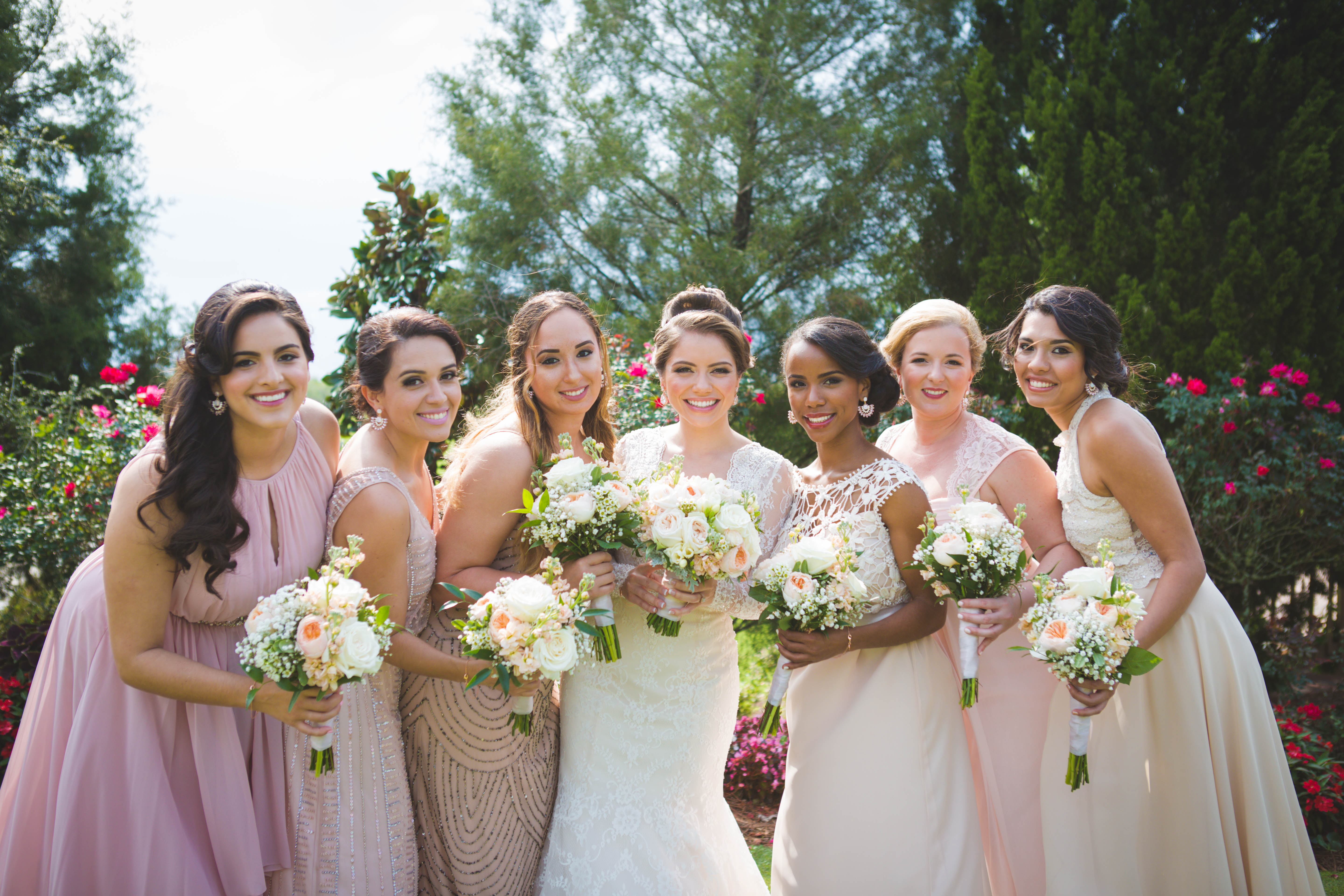 Izabella and Bridal Party