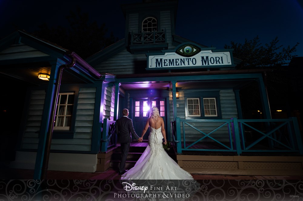 Halloween Wedding Disney World