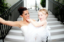 Tonia and Flower Girl