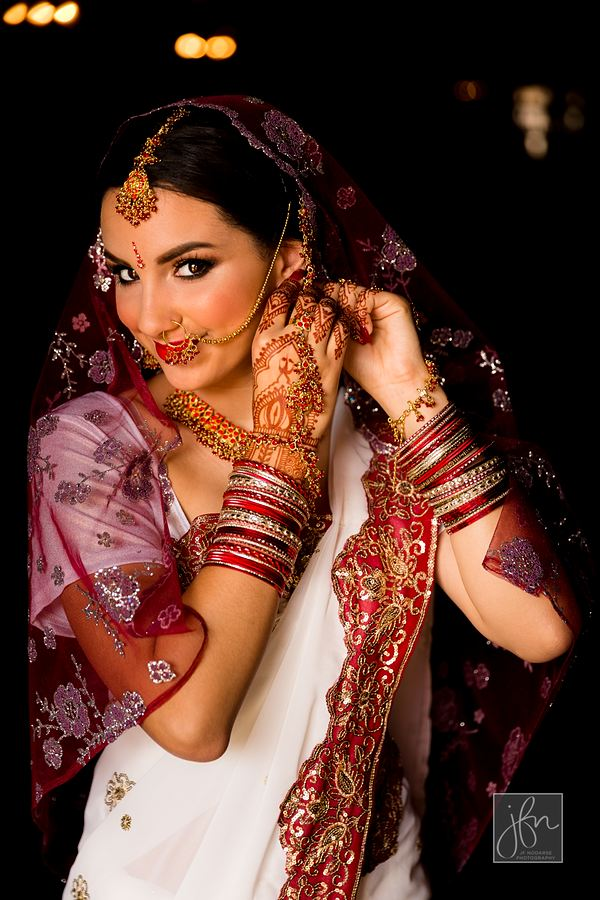 Indian Wedding Hair and Makeup