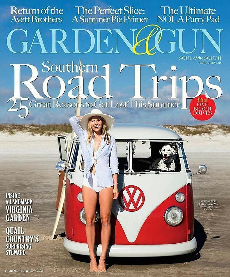 Garden & Gun Cover Shoot