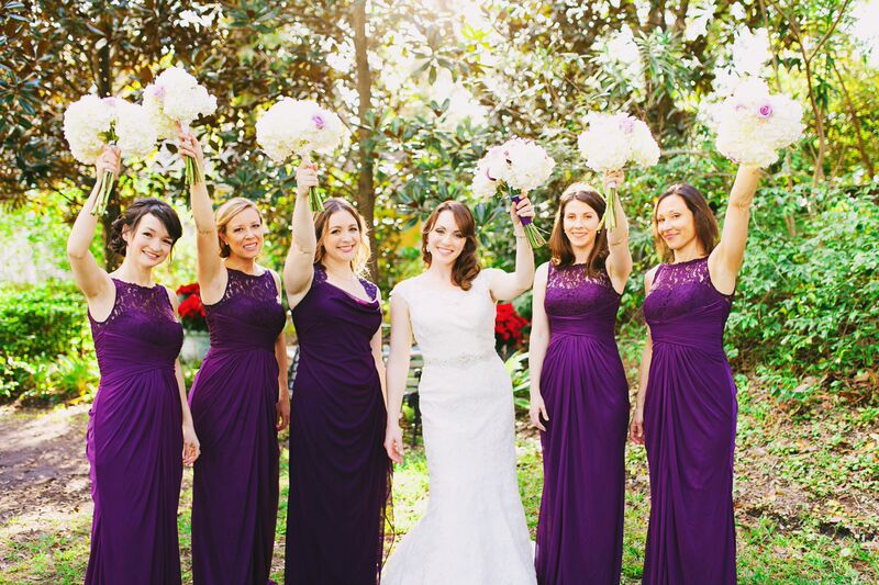 Kristen and her Bridesmaids