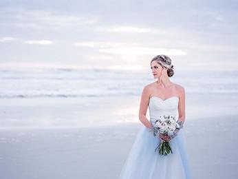 Florida Sunrise Beach Wedding Editorial Shoot