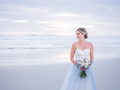 Florida Sunrise Beach Wedding Editorial Shoot