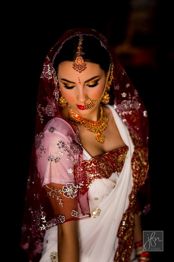 Indian Wedding Airbrush Makeup