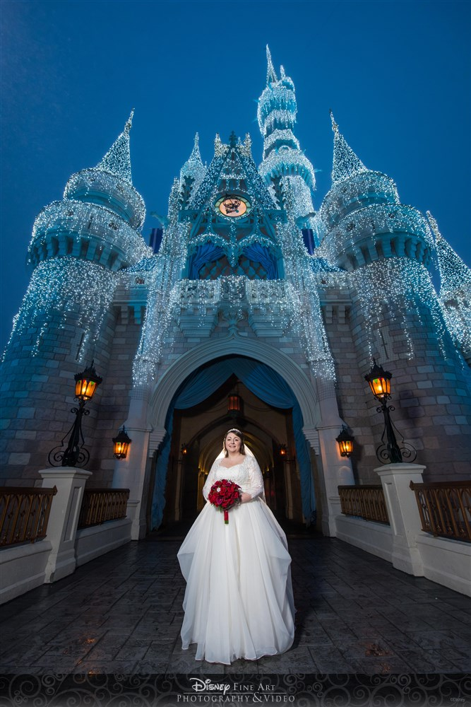Disney Castle Photo Shoot
