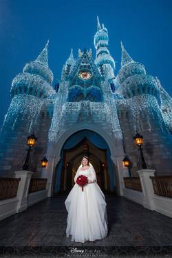 Disney Castle Photo Shoot