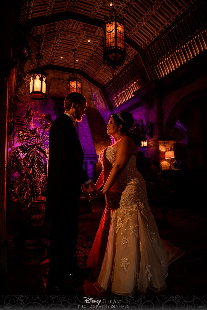 Halloween Disney Wedding