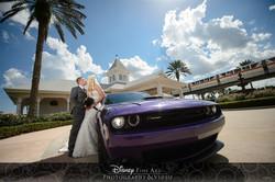 Disney Destination Wedding Makeup
