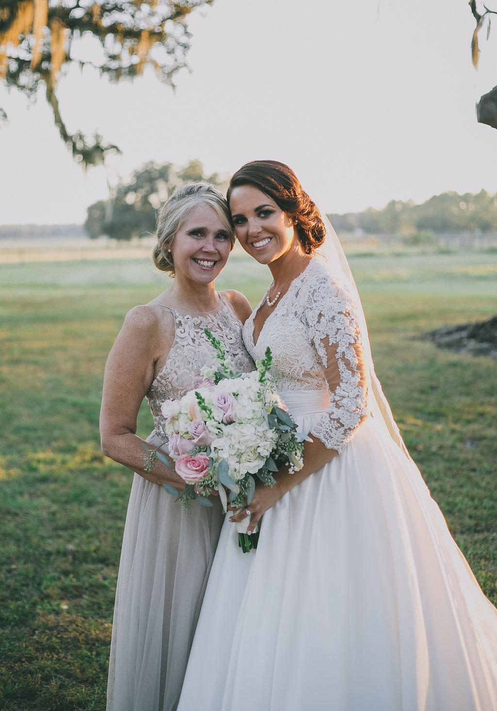 Florida Farm Wedding Hair & Makeup