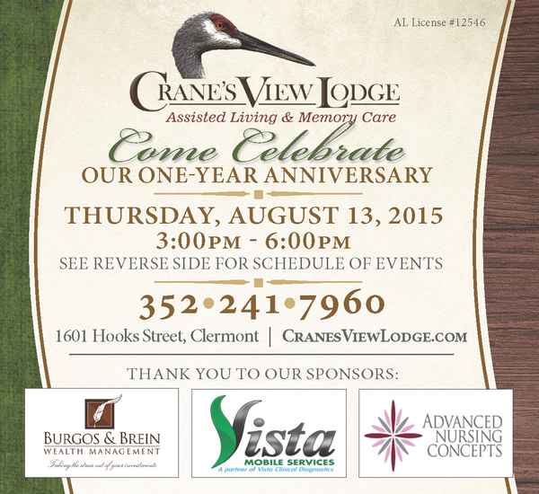 Cranes View Lodge - 1 Year Anniversary Open House