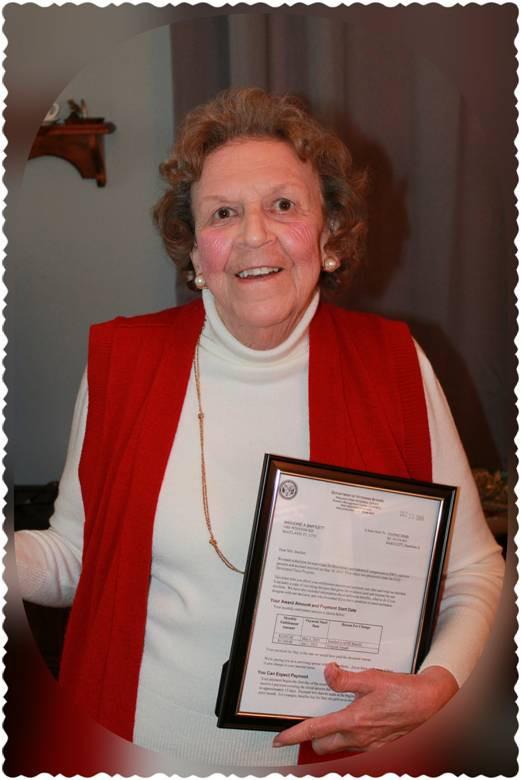 VA Pension Awarded