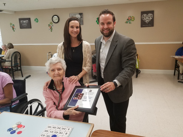 Surviving Spouse WWII Veteran receives VA pension