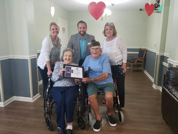 Veteran & Spouse Receive Much Needed Pension