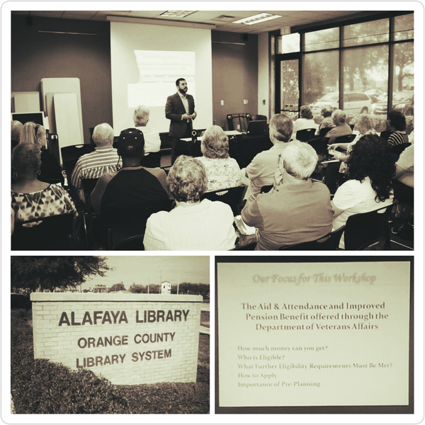 VA Workshop Success - Alafaya Library