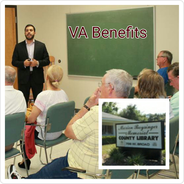 VA Workshop Success at Groveland Library