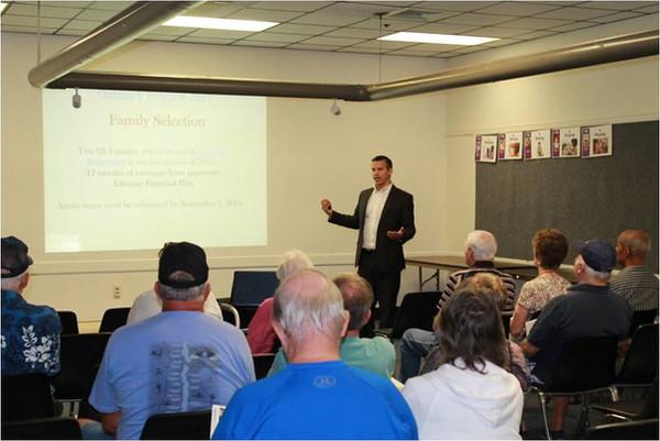 VA Pension Planning Success at the Lake Mary Library