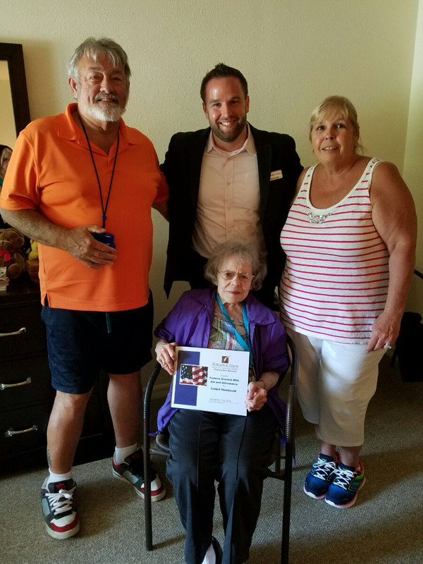 Surviving Spouse Awarded Aid & Attendance