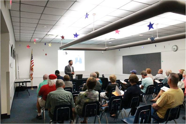 VA Pre-Planning Workshop at the Oviedo Library