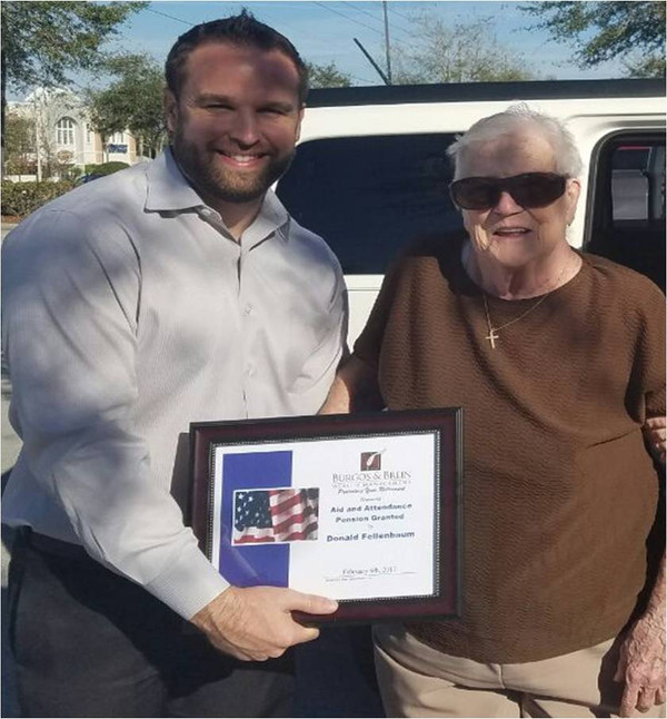 WWII Veteran & Spouse Receive Aid & Attendance Pension